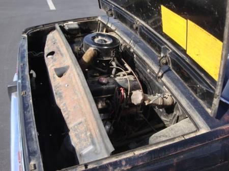 1967 Renault R10 engine