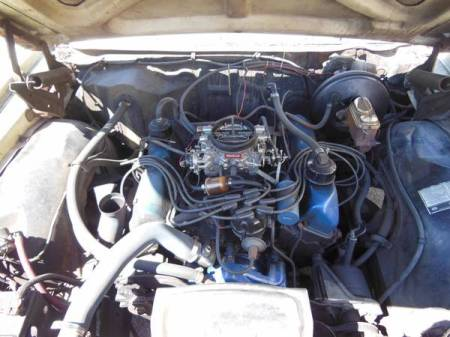 1968 Ford LTD hardtop engine
