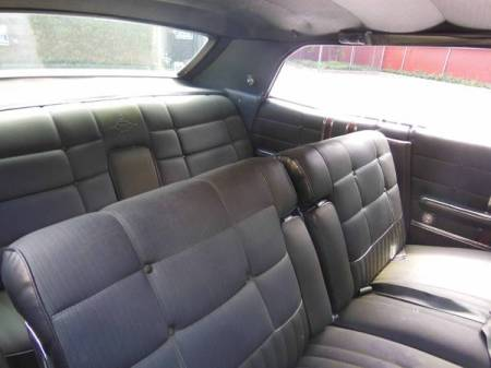 1968 Ford LTD hardtop interior