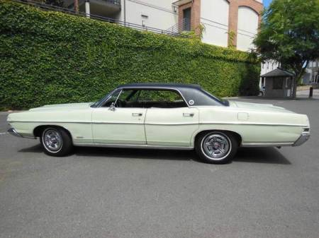 1968 Ford LTD hardtop left side