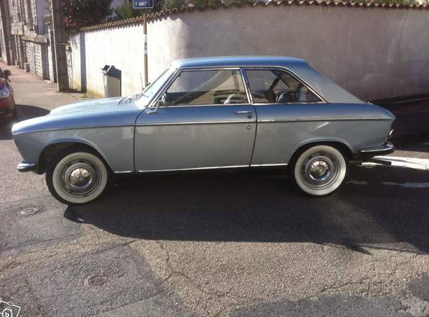 petit coupe 1969 peugeot 204 coupe rusty but trusty. Black Bedroom Furniture Sets. Home Design Ideas