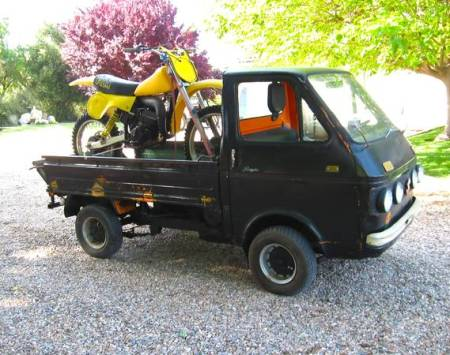 1969 Suzuki Carry right front