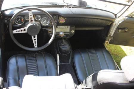 1972 MG Midget $500 interior