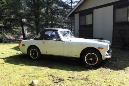 1972 MG Midget $500 right