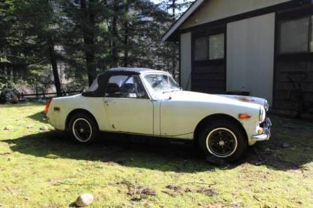 1972 MG Midget $500 right
