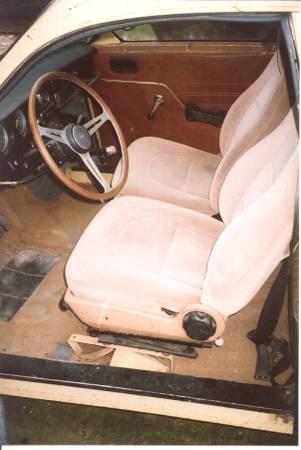 1973 Saab 96 interior