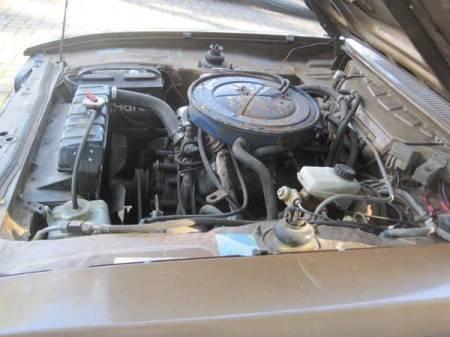 1974 Ford Capri engine