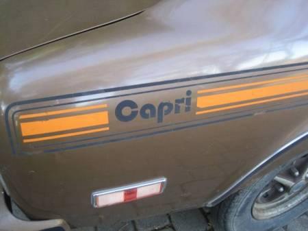 1974 Ford Capri graphic