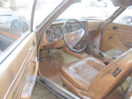 1974 Ford Capri interior