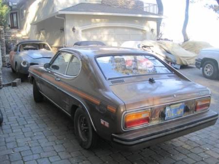 1974 Ford Capri left rear