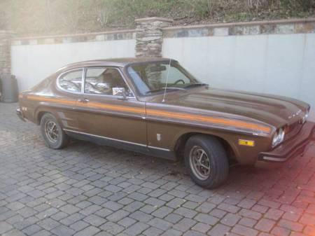 1974 Ford Capri right front