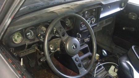1974 Mazda RX-2 interior