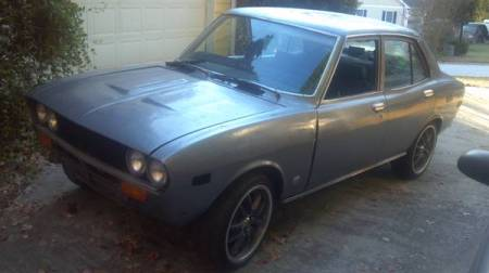 1974 Mazda RX-2 left front