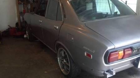 1974 Mazda RX-2 left rear