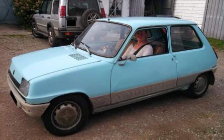 1974 Renault 5 left front