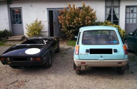 1974 Renault 5 rear