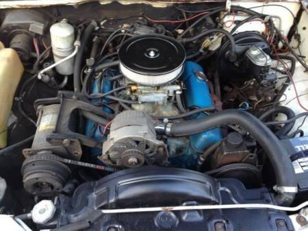1977 Chevrolet Monza Mirage engine