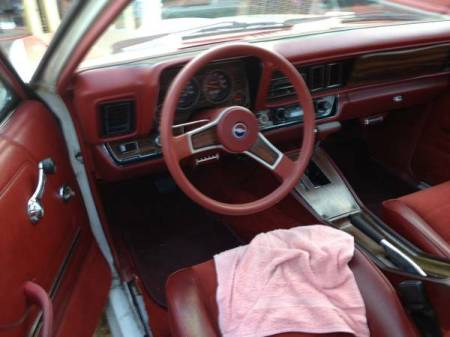 1977 Chevrolet Monza Mirage interior