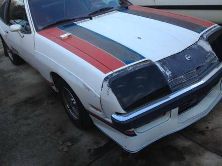 1977 Chevrolet Monza Mirage right front