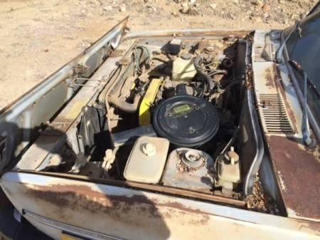 1977 Fiat 131S Mirafiori engine