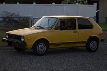 1977 VW Rabbit left front
