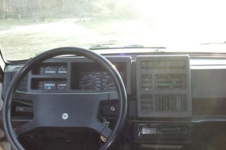 1983 Lancia Delta 1500 dash