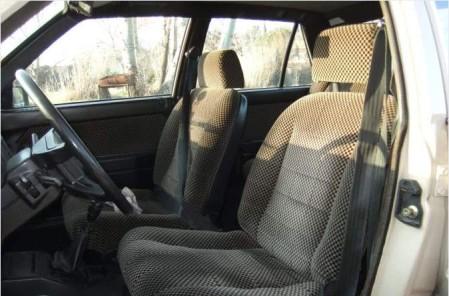 1983 Lancia Delta 1500 interior