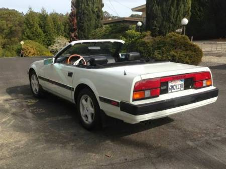 1984 Nissan 300ZX convertible left rear