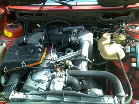 1987 BMW 535is engine