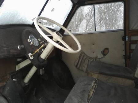 1960 Lloyd LT600 van interior