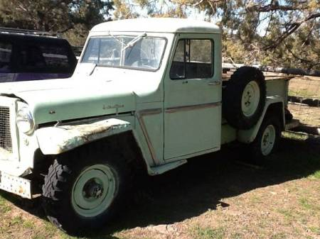 1962 Willys Jeep Truck left front