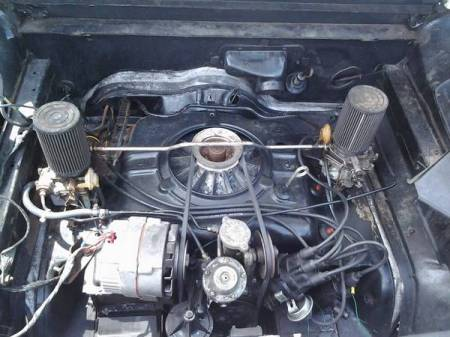 1964 Chevrolet Corvair engine