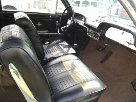 1964 Chevrolet Corvair interior