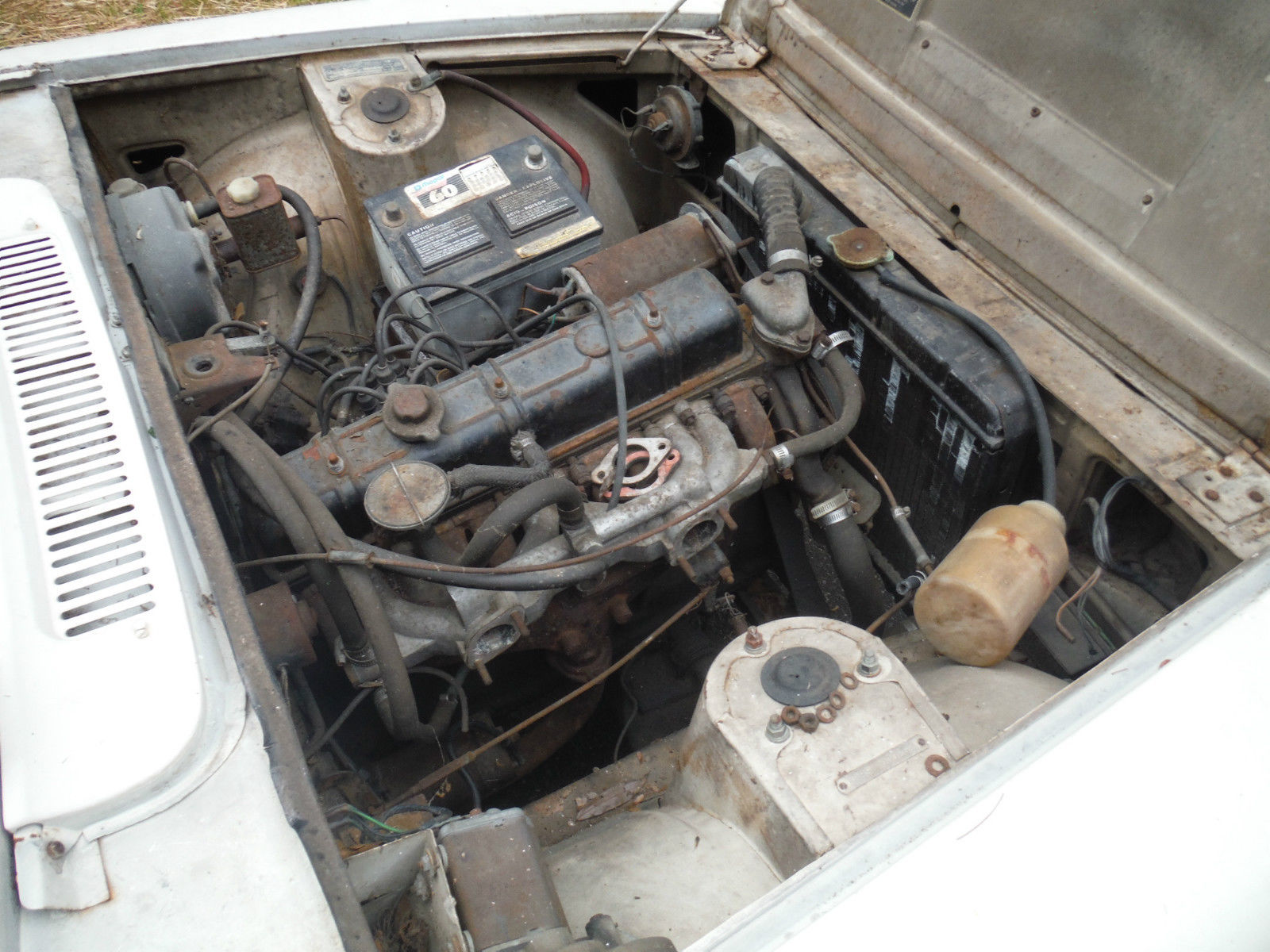 Vanguard Replacement – 1967 Triumph 2000 Mark 1 | Rusty But Trusty