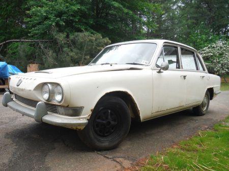 1967 Triumph 2000 Mk 1 left front