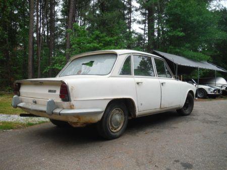 1967 Triumph 2000 Mk 1 right rear