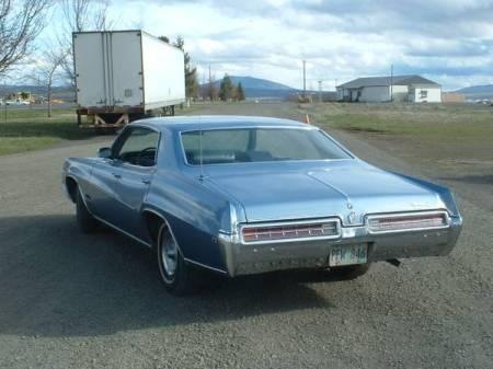 1969 Buick Wildcat left rear