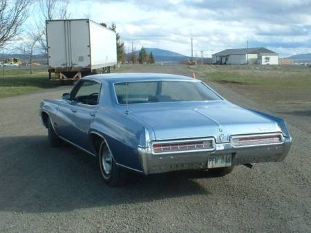 1969 Buick Wildcat left rear