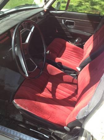 1969 Volvo 145S interior