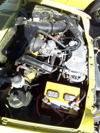 1972 Honda AZ600 engine