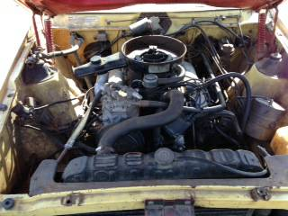 1973 AMC Javelin SST engine