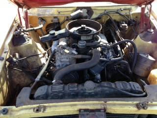 1973 AMC Javelin SST engine