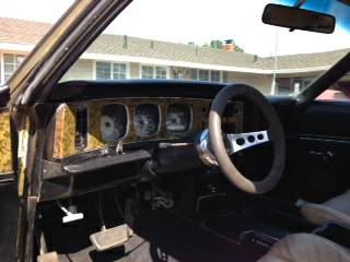 1973 AMC Javelin SST interior