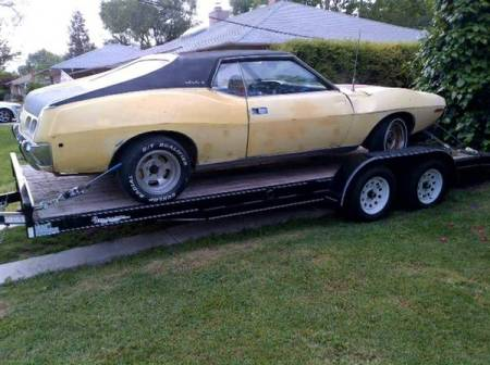 1973 AMC Javelin SST right rear