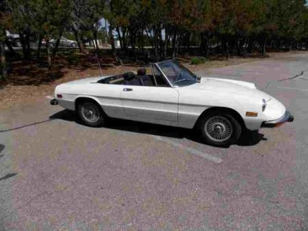 1974 Alfa Romeo Spider Veloce right front