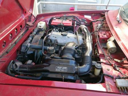 1974 Ford Courier engine