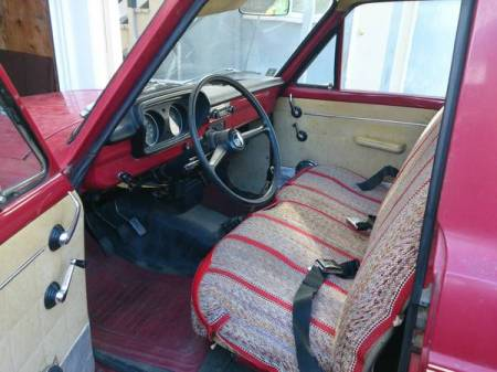 1974 Ford Courier interior