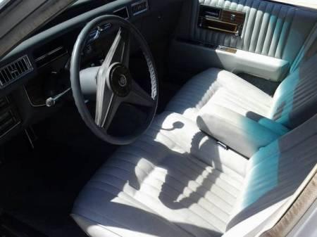 1976 Cadillac Seville interior
