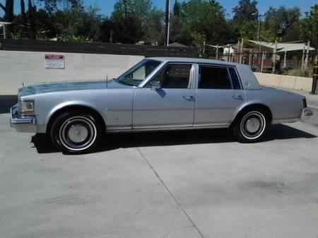 1976 Cadillac Seville left side