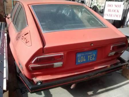 1977 Alfa Romeo Alfetta GT left rear